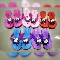 Termurah Sendal Sandal Anak Cewek Perempuan Karakter Hello Kitty Jepit