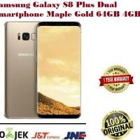 Di jual SAMSUNG GALAXY S8 PLUS 64GB gold