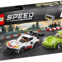 LEGO 75888 - Speed Champions - Porsche 911 RSR and 911 Turbo 3.0