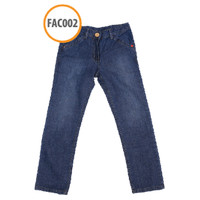 Celana Anak Regular Jeans Fit FAC002 Light Blue by Afra Kids