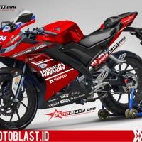 Decal Stiker Yamaha R15 V3 Mission Winnow FullBpdy