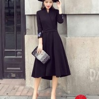 DRESS KUPBOR/Dress hitam bordir/Dress kupu kupu/Dress wanita cantik/LL