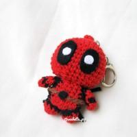Deadpool Crochet Pattern Crochet dolls Birthday Superhero   Etsy   200x200