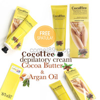 COCOTTEE Cocoa Butter Depilatory Cream Perontok Rambut Miss V