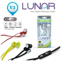 Handsfree Lunar V3 Original Super Stereo Bass