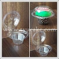 MUSHROOM Plastic Muffin Cup isi 10pcs