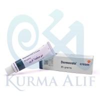 Dermovate Cream / Krim Dermovet 25 gram Hijau