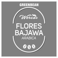 Flores Arabica Green Bean 1Kg (Biji Kopi Mentah)