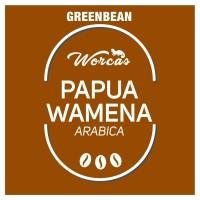 Papua Wamena Arabica Green Bean 1Kg (Biji Kopi Mentah)