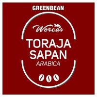 Toraja Arabica Green Bean 1Kg (Biji Kopi Mentah)