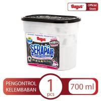 Bagus Serapair Square Box 700 ml Charcoal