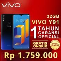 VIVO Y91 2GB/32GB GARANSI RESMI 1 TAHUN ORIGINAL