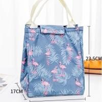 i3B4 Lunch bag FASHION tas bekal cooler bag bonus 2 jelly ice cooler