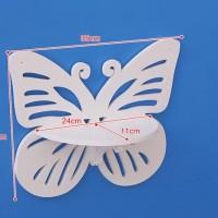 MH51205 Butterfly Decorative Rack / Rak Dinding Kupu-Kupu shabby chic