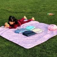 145 x 145CM Tikar piknik Tikar tamasya Alas piknik serbaguna