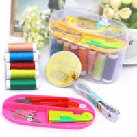 #120 Set Alat Jahit Sewing box set peralatan benang jarum lengkap