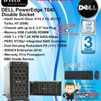 "DELL Server T640 ""Custom Spec 2"" Intel Xeon Silver 4110 TowerSeries"