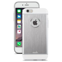Moshi iPhone 6/6s iGlaze Armour - Silver