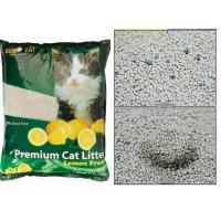sumo cat litter premium kotoran kucing 10 L (LEMON)