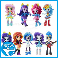 Set Mainan Anak Action Figure My Little Pony Equestria Girls Pajangan