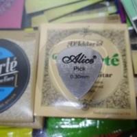 Pick Gitar Alice Stainless Steel 1pcs Berkualitas