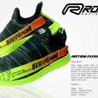 Sepatu Motion fly knit running ROB1