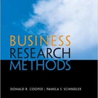 Business Research Methods - Donald R Cooper (Hardcover)