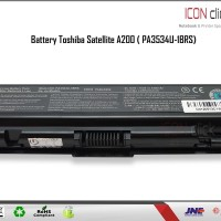 BATTERIA PER TOSHIBA SATELLITE PRO l300d-14u//l300d-20r-4400mah batteria-Top