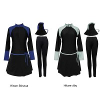 Baju Renang Muslim Polos BRM-202