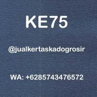 KERTAS FANCY EMBOSS EKSKLUSIF WARNA BIRU KODE KE75