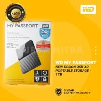 WD My Passport New Design 1TB USB 3.0 - HD / HDD / Harddisk External