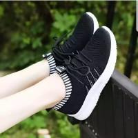 Sepatu Wanita Kets Casual SDS274 Hitam
