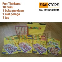 Buku Fun Thinkers (English, Math, Thinking Skill) Grolier