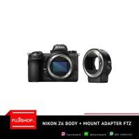 Nikon Z6 Body + FT Z Mount Adapter