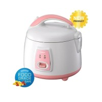 Denpoo Rice Cooker DMJ 101 G Kap 0.8 L, White Pink