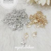 Liontin Spacer Diamond mini Bintang