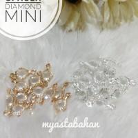 Liontin Spacer Diamond Mini Segi4