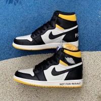 fbfee0402cc Sepatu Nike Air Jordan 1 Retro High Og Not For Resale - Black Varsity