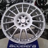jual velg racing ring 17 untuk mobil nissan march new