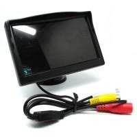 LAYAR MONITOR LCD 4.3 INCH DISPLAY EXT KAMERA PARKIR MUNDUR LC686