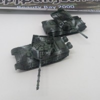 1/144 Tank M1 Abrams & Type 99 Tricolor winter camouflage [ab+hand]