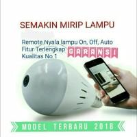 New CCTV Ip Camera Wifi Light Bulb Lamp Panoramic Spy Cam Lampu Bohlam