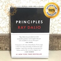 [HARDCOVER] Principles Life and Work by Ray Dalio