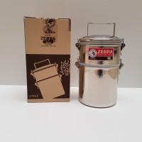 ZEBRA RANTANG SMART LOCK JUMBO FOOD CARRIER ANTI TUMPAH 14X2 150255