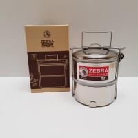 ZEBRA RANTANG FOOD CARRIER 12X2 AIRTIGHT II ANTI TUMPAH RANGKA 150222