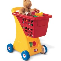 Little Tikes Shopping Cart Yellow Red 612428
