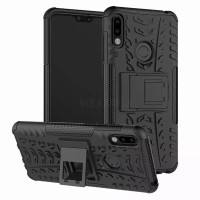 HARD CASE RUGGED ARMOR ASUS ZENFONE MAX PRO M2 CASING STANDING ZB631KL