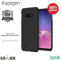 Spigen Samsung Galaxy S10e Case Silicone Fit - Black
