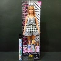 Mainan Anak Perempuan Boneka Barbie Fashionistas Fashion Ori Mattel 96