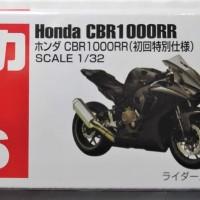 Tomica 36 Honda CBR1000RR Black Miniatur motor honda CBR1000RR CBR